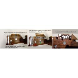 Kolba sportowa do Anschutz 1771 2x SPEED LOCK z laminatu (wzór BO-EBC)