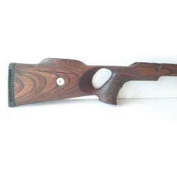 Hunting stock for Haenel Jaeger 10 THUMBHOLE SPEED LOCK from laminate (pattern BRW)